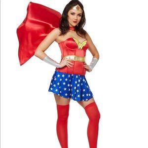{RUBIE'S} Wonder Women Corset Costume